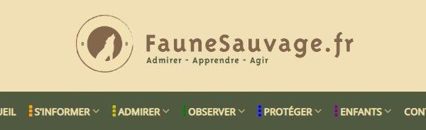 Portrait sur faunesauvage.fr