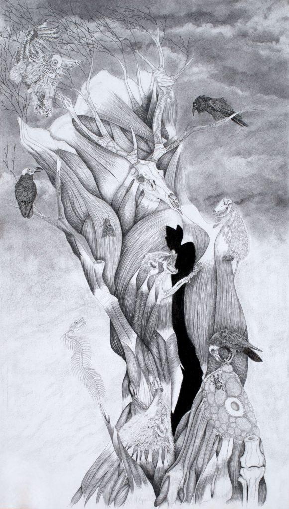 Illustration tronc à prières, Donald Ray Pollock : Le diable tout le temps